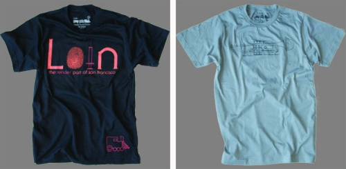 Loin and Muted T-shirt designs by Red Choo Choo