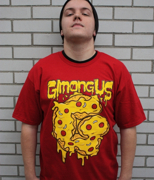 Pizza T-shirt by Gimongous; $20.00