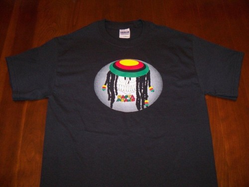 Rasta Meanie T-shirt by Meanie Wear; $15.99