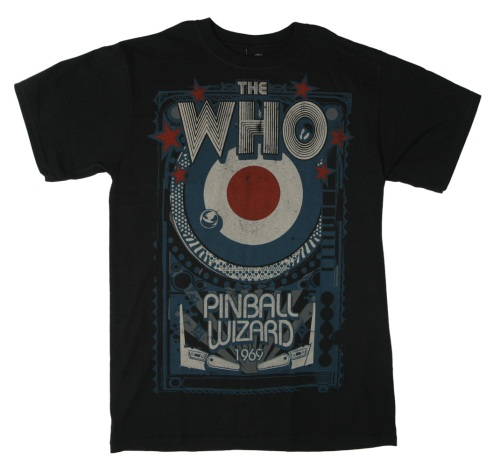 The Who Pinball Wizzard T-shirt by T-shirtscom