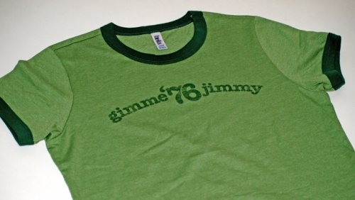 Gimme Jimmy T-shirt by Retro Campaigns