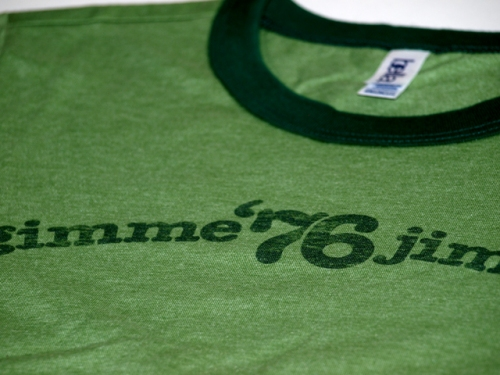 Gimme Jimmie T-shirt by Retro Campaigns / detail