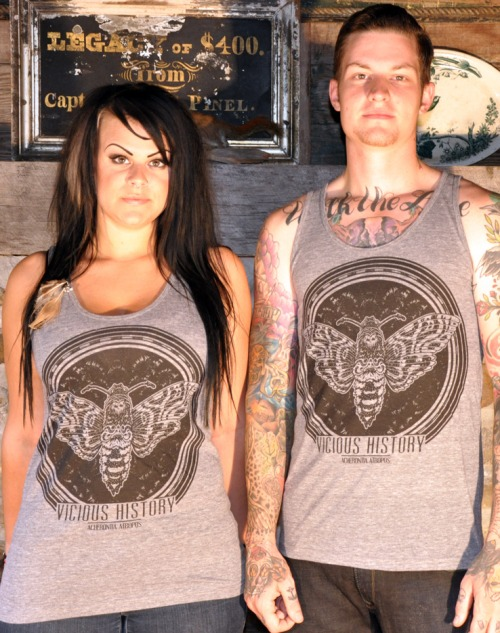 Atropos tank top by Vicious History