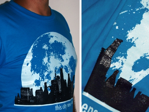 Beerscape 2.0 T-shirt by Crawl Apparel / details