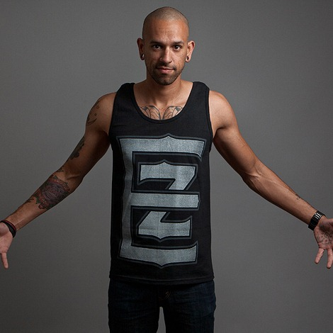 Crypt Black tank top by Electric Zombie