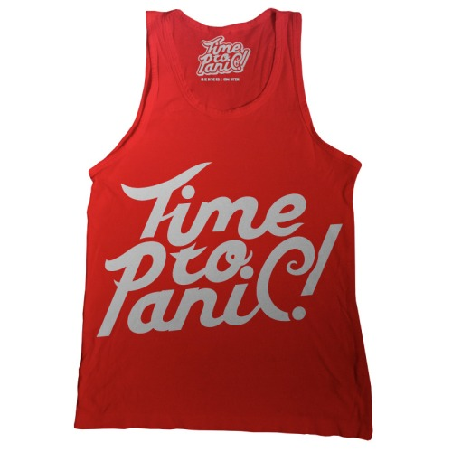Logo tank top by Time To Panic!