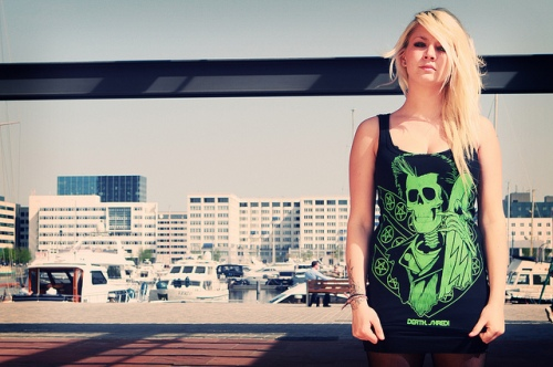 Punk Harris tank top by Death, Shred!